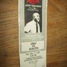 UNLV NCAA Basketball runnin rebels 1991 vs auburn ticket stub jerry tarkanian