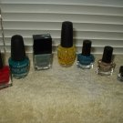 nail polish opi la works color workshop sparkle most partial bottles lot of 7