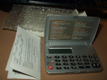 data bank calculator dbc-24 60 memory data bank new