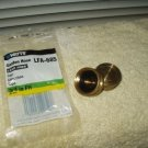 "garden hose caps brass lead free 3/4"" set of 2 watts LFA-685 with washers"