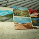 vintage post cards arizona gila bend show low salt river canyon new mexico route 66 lot of 5