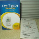"one touch verio flex meter ""manual only"" w/ guide insert in spanish"