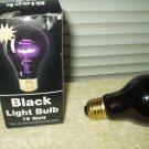 black light bub 75 watt e26 screw base tested good