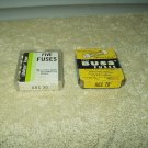 agc 20  littlefuse & buss mixed lot of 10 each