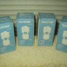 topstar gu24 base 60 w light bulb uses 14w 900 lumens 2700 k 10000 hr life lot 4