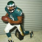 "nfl donovan mcnabb #5 action figure ceramic variant life like 12"" tall positionable"