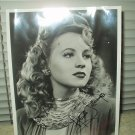 "ann jeffreys autographed 8"" x 10"" photo"