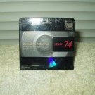 sony recordable mini disc mdw-74 pre-owned