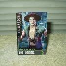 "the joker card ""the killing joke"" injustice arcade collection 1 95/100"