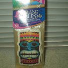 elite island bliss fragrance hanging auto home air fresheners 1 package of 3 each