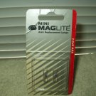 maglite aaa replacement lamps # LM3A001 2 packs with 2 in ea. per order 4 total
