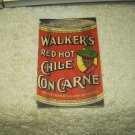 vtg 1918 walker's red hot chile con carne recipe booklet