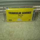triangular bandage with pins 1 box 3 inside certified safety # 636 sealed