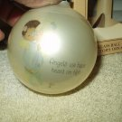angels we have heard on high xmas glass ball collectible ornament # e1467 enesco precious moments