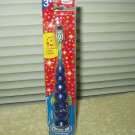 oral b kids soft toothbrush lights up & flashes 3+ years damaged packaging