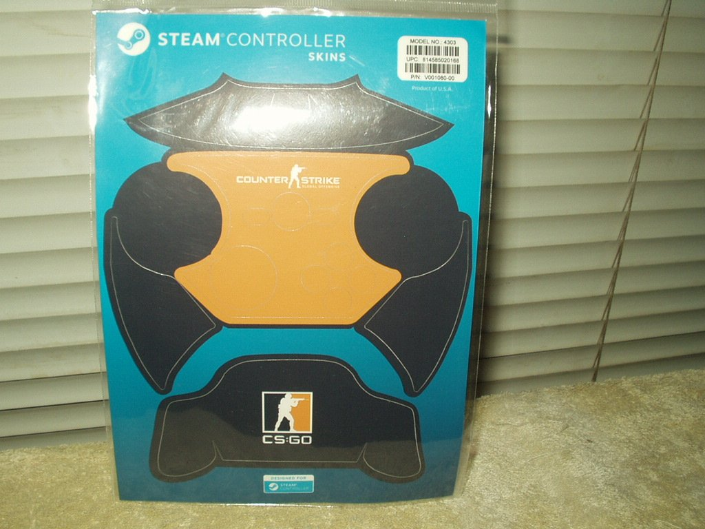 steam controller skins counter strike cs:go # 4303 blue orange