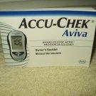 accu-chek aviva original glucose meter / monitor manual only in english & spanish