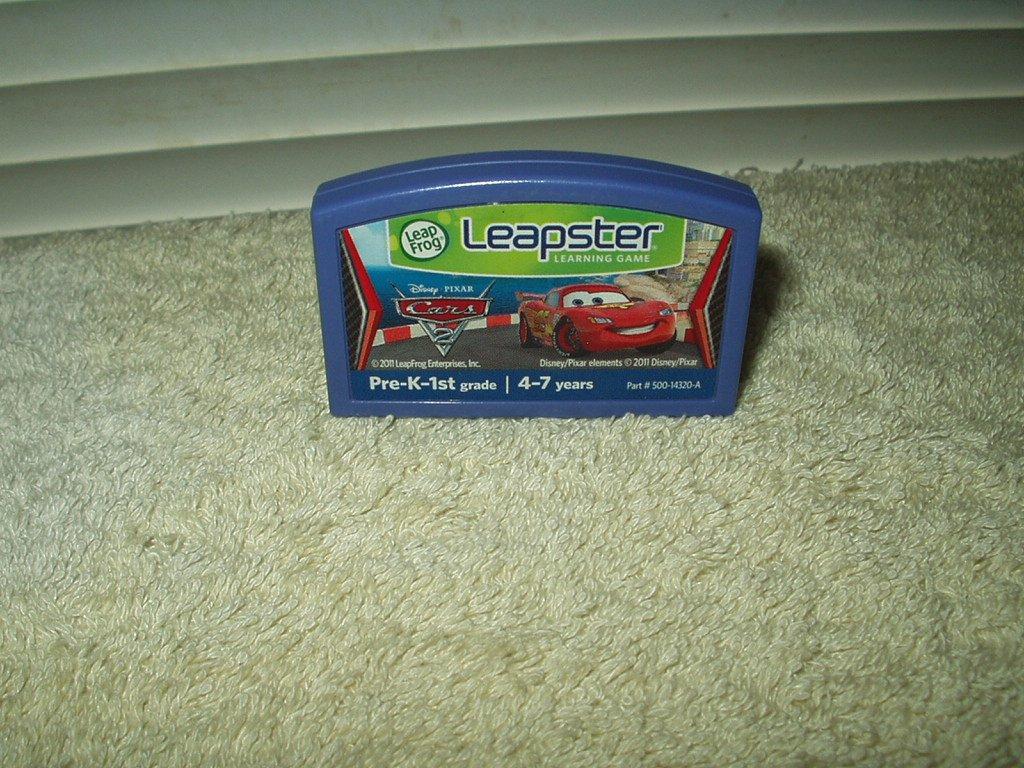 LEAPFROG LEAPSTER DISNEY PIXAR CARS CARTRIDGE ONLY # 500-14320-A