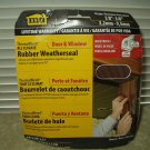 """weatherstripping all climate weatherseal md products # 43848 for gaps 1/8"""" to 3/8"""" 17'"""