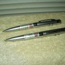laser writing pen w/ penlight tradewinds brand lot of 2