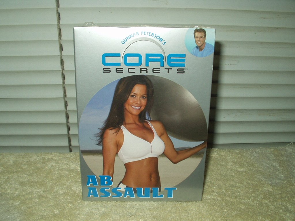 gunnar peterson's core secrets: ab assault excercise dvd