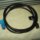 coaxial cable close to 6' vcr cable box etc to tv television