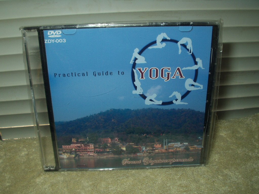 practical guide to yoga zdy-003 dvd the divine life society by Swami Yogaswarupananda