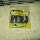 "simplicity dog show lead braided brown approx 46.5"" total length 1/4"" wide"