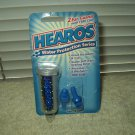 hearos 1 sealed pair of ear plugs / guards with case water protection series adult & child use