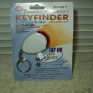 shye sonic keyfinder keychain with flashing light...sealed new old stock whistle activation