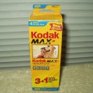 kodak max versatility iso 400 35mm color print film 3ea gc 135-24 & 1ea gt 135-24 iso 800