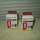 Accu-chek Aviva Plus test strips 2 sealed boxes w/ 50 ea  100 total exp 01/31/2021