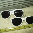 belvedere vodka sunglasses unisex lot of 2 each white