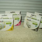 epson stylus workforce ld ink cartridges lot of 4 2 # ld-t127120 1 # ld-t127420 & 1 # ld-t127320