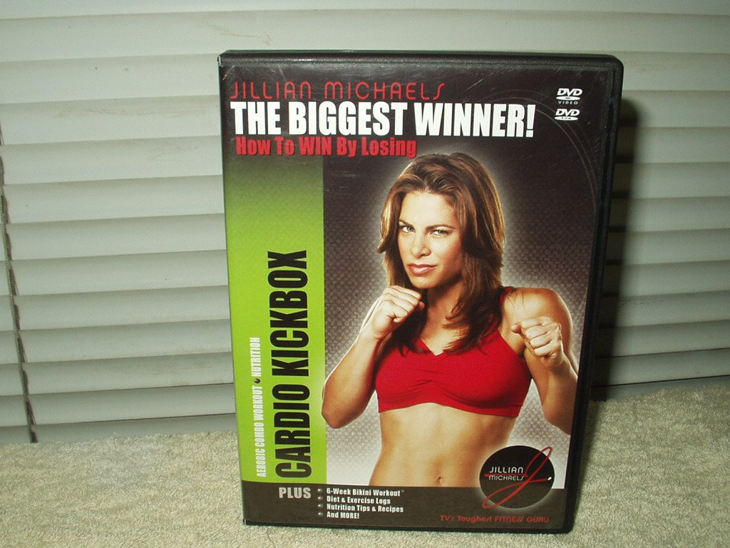 cardio kickbox aerobic combo workout dvd the biggest winner