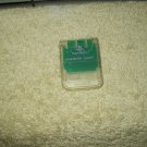 vtg sony scph-1020 clear memory card for playstation 1 ps1