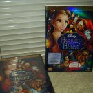 sealed disney beauty and the beast 2 disc dvd set year 2010 movie rewards