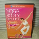 beachbody yoga booty ballet ladies excercise dvd only 119 minutes