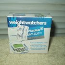 weight watchers points plus calculator w/ daily & weekly tracker sealed