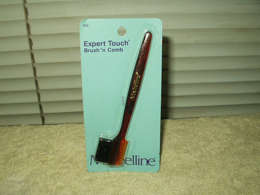 maybelline expert touch brush n comb sealed #69g new older stock