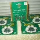 GE plug in replacement bulbs xmas string a long 35 light sets 2.5-3.5 volt 16 ea & 3 ea bonus bulbs