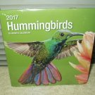 hummingbirds calendar year 2017 18-month wall type sealed