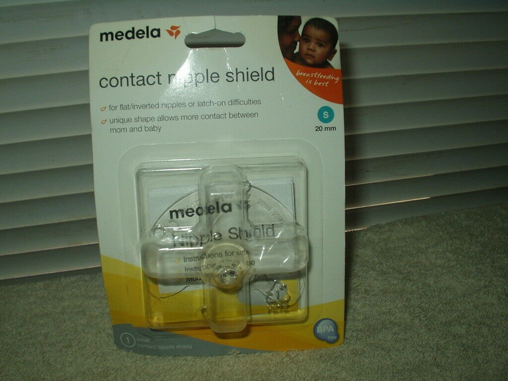 medela 20mm small clear contact nipple shield 1 each #67218