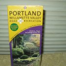 portland willamette valley road & recreation map 8th edition