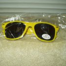 memorial hermann sunglasses yellow plastic w/ uv protection