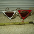 vtg 1980's martini cocktail glass sunglasses italian design 57015 imperfect