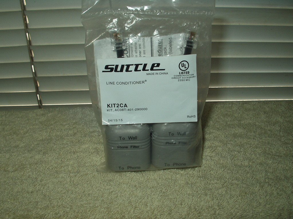 suttle kit2ca telephone line conditioner 2ea in the sealed bag