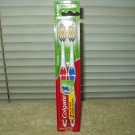 colgate classic clean soft bristle toothbrush w/ tongue cleaning ability package of 2