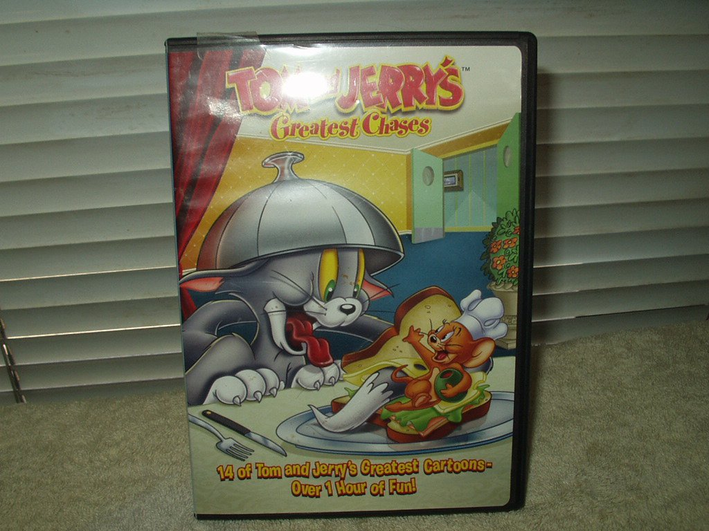 tom & jerry greatest chases volume 4 dvd  98 minutes