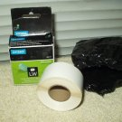 "Dymo 30277 White Filing Labels 2 up 0.56"" X 3.43"" 1 partial Roll"